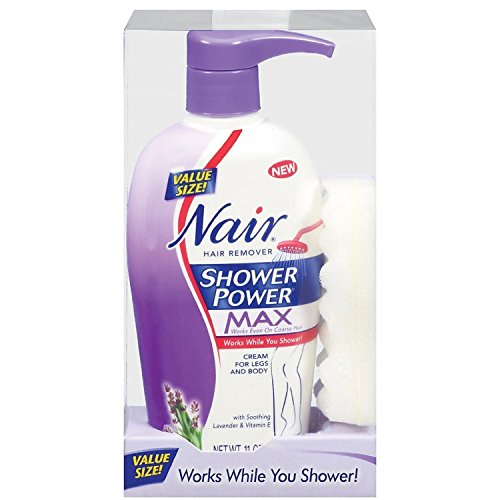 Nair Shower Power Max Hair Remover Cream 11 Oz 2 Pack Price In