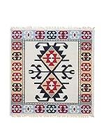 Floor Decor Alfombra Doubleface Eli (Rojo/Marfil/Multicolor)