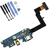 MuchBuy Mobile Phone Replacement Parts Dock Connector Charging Port Flex Cable Ribbon For Samsung i9100 Galaxy S2 / Galaxy s2 i777+ Tools