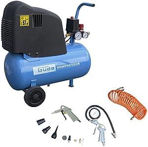 Güde KompressorSet 210/08/24 BC Ölfrei + 12tlg.Set  BaumarktKritiken und weitere Informationen