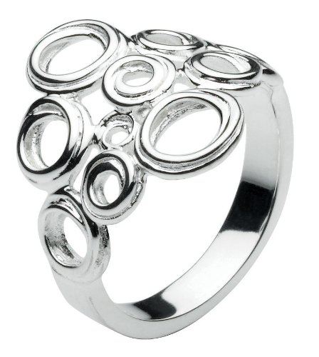 Kit Heath Sterling Silver Coil Cluster Ring (size: 7)