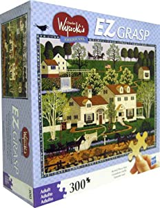 "CHARLES WYSOCKI's AMERICANA EZ GRASP""Gingernut Valley"" 300 Piece PUZZLE at Sears.com"
