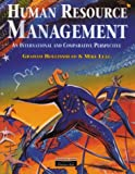 img - for Human Resource Management: An International and Comparative Perspective on the Employment Relationship book / textbook / text book