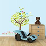 Kidocent Tree Of Hearts Wall Decal