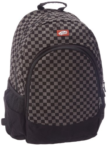 Vans Unisex-Adult Van Doren Backpack VC8YBA5 Black/Charcoal