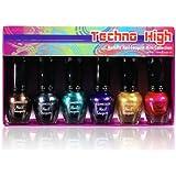 KLEANCOLOR Techno High - Metallic Nail Lacquer Mini Collection (NPC592)