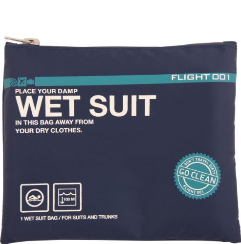 Flight 001 Go Clean Wet Suit Bag - Navy