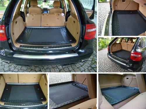 Kofferraumwanne mit Anti-Rutsch für Opel Corsa D Cosmo, Enjoy (obere Ladefläche)
