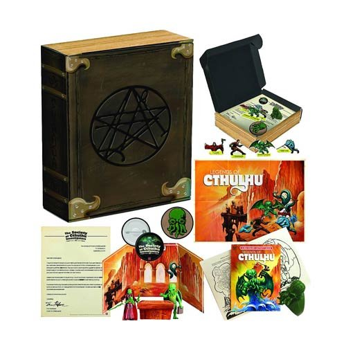 Legends of Cthulhu Necronomicon Collector's Club Kit