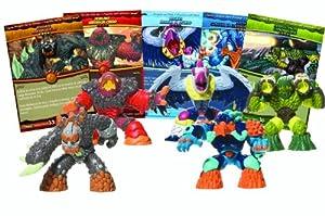 Giochi preziosi - Gormiti - 7552 - L'Ere de l'Eclipse Suprême - Blister de 5 Figurines Interactives + Cartes