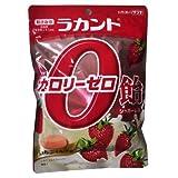 Amazon.co.jpラカント カロリーゼロ飴 いちご味 ×2セット