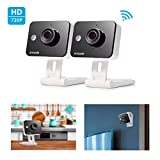 Zmodo WiFi Wireless Smart Security Camera Two-Way Audio(2- Pack)