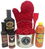 Fifth Avenue Gourmet Barbecue Bucket Gift Set, 6 Pound
