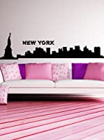 Ambiance Sticker Vinilo Adhesivo New York Skyline