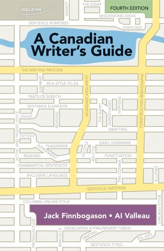 A Canadian Writer's Guide 4e