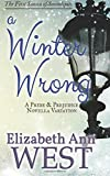 By Elizabeth Ann West A Winter Wrong: A Pride and Prejudice Novella Variation (Seasons of Serendipity) (Volume 1)
