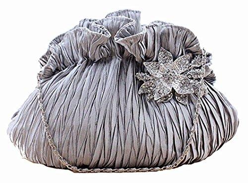 Szstudio Popular Pretty Fold Bride Dinner Clutch Handbags