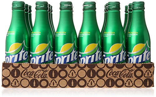 Sprite Aluminum Bottles, 8.5 fl oz (Pack of 24) (Soda Aluminum Bottle compare prices)