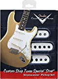 Fender Texas Special Stratocaster Custom Shop Pickups, 3 Set - White