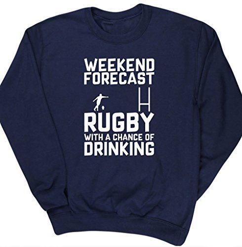 hippowarehouse-weekend-forecast-rugby-with-a-chance-of-drinking-unisex-jumper-sweatshirt-pullover