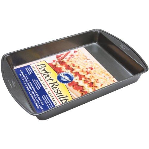 Wilton 2105-6816 Perfect Results Premium Nonstick Baking Pan, 14.5 x 11 x 2 Inch