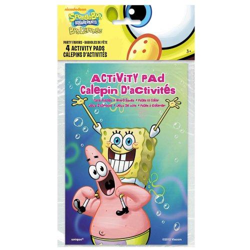 SpongeBob SquarePants Activity Books, 4ct