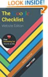 The Google Checklist: Website Edition...