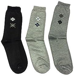 Graceway Unisex Woolen Socks - Set Of 3 Socks (5Su23)