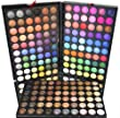 LIDSCHATTEN Make UP 180 SET Palette BOX Kosmetik EYESHADOW warm natural schimmer