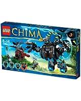 Lego Legends of Chima - Playthèmes - 70008 - Jeu de Construction - L' ultra Robot de Gorzan