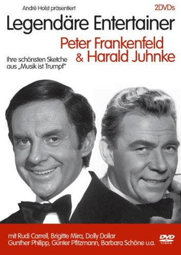 Legendäre Entertainer - Peter Frankenfeld & Harald Juhnke [2 DVDs]