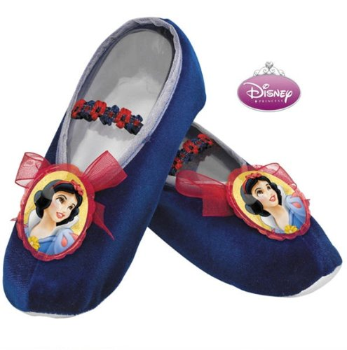 Girls Snow White Ballet Slippers