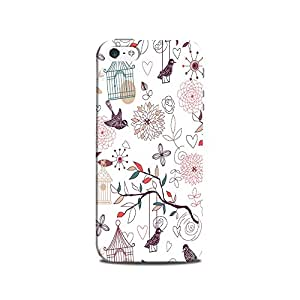 Mikzy Free Nature Art Printed Designer Back Cover Case for Iphone 5/5S (MultiColour)