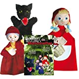 Little Red Riding Hood, the Wolf and Grandma + Book