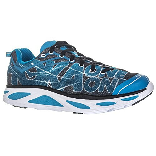 Hoka One One Huaka 2, Scarpa da Running Uomo (44, Black/Blue Jewel)