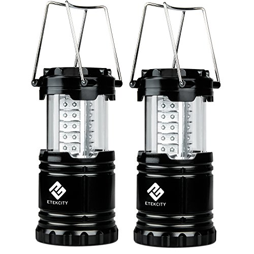 Etekcity-2-Pack-Portable-Outdoor-LED-Camping-Lantern-with-6-AA-Batteries-Black-Collapsible
