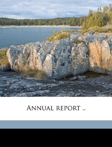 Annual report .. Volume 7