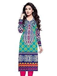 RR Fashion Women's Cotton Unstitched KURTI(R1010_MULTICOLOUR)