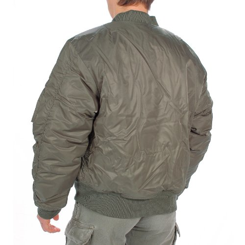 MIL-TEC Classic Retro Military Mens Jacket Vintage Look Style OLIVE, SIZE XXL by Camo Outdoor 1