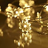 Indoor Sunflower Fairy Lights, 30 Warm White LED by Lights4funby Lights4fun - Fairy Lights