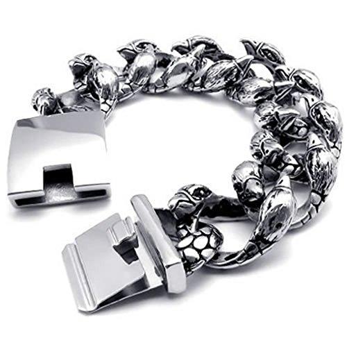 edelstahl-armband-antik-freundschaftsarmbander-pu-leder-armreifen-herren-link-armbander-silbery-lang
