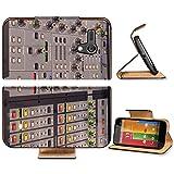 Liili Premium Motorola G 1st Generation Flip Pu Leather Wallet Case Professional digital music mixer console Photo 7764607 Simple Snap Carrying