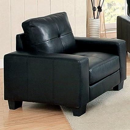 Arillonia Sofa by Hokku Designs, Black
