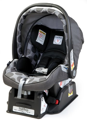 Peg-Perego 2011 Primo Viaggio Infant Car Seat, Pois Grey