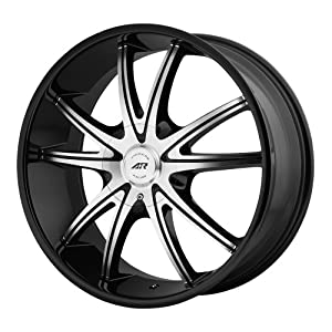 American Racing AR897 Gloss Black Wheel with Machined Face (20×8.5″/5×5″)