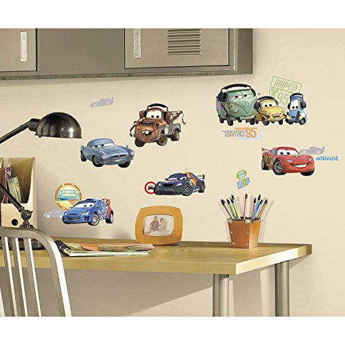 Roommates Rmk1583Scs Disney Pixar Cars 2 Peel & Stick Wall Decals - 1