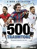500 Traumtore - Die besten Fu�balltore der Welt [3 DVDs]