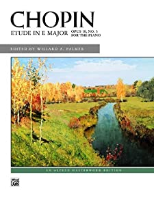 Etude In E Major Op 10 No 3 Alfred Masterwork Editions from Alfred Publishing Co., Inc.