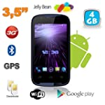 Smartphone Android 3.5 pouces 3G WiFi...