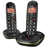Doro Phone EASY 105WR DUO Schnurlostelefon mit Anrufbeantworter (DECT)